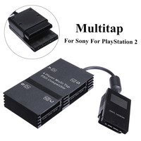 NEW 4 Player Multi Tap Controller Memory Card HUB For Playstation 2 For PS2 High Quality