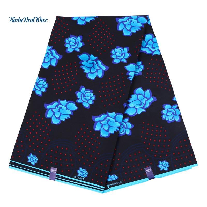 6 Yard Batik African Fabric 2018 Wax Floral Print Hollandais Wax Ankara Fabric For Women Dress DIY Sewing Fabric FP61086 Yard Batik African Fabric 2018 Wax Floral Print Hollandais Wax Ankara Fabric For Women Dress DIY Sewing Fabric FP6108