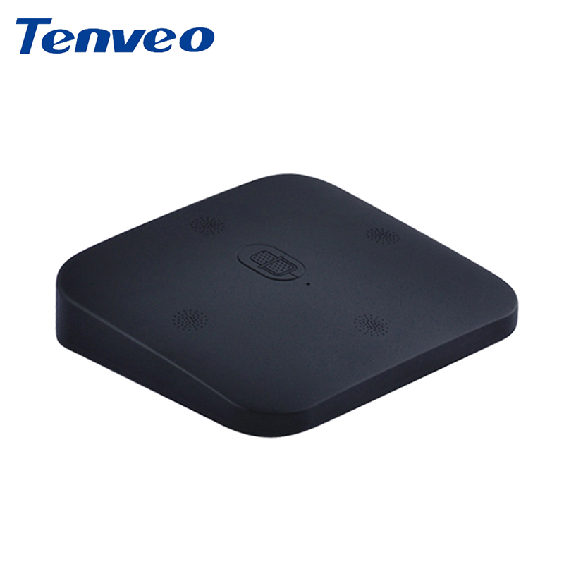 Tenveo AX3 Array Omnidirectional Microphone 3.5mm Audio for Video Conference Whatsapp Skype 10m pickup Radios Mic