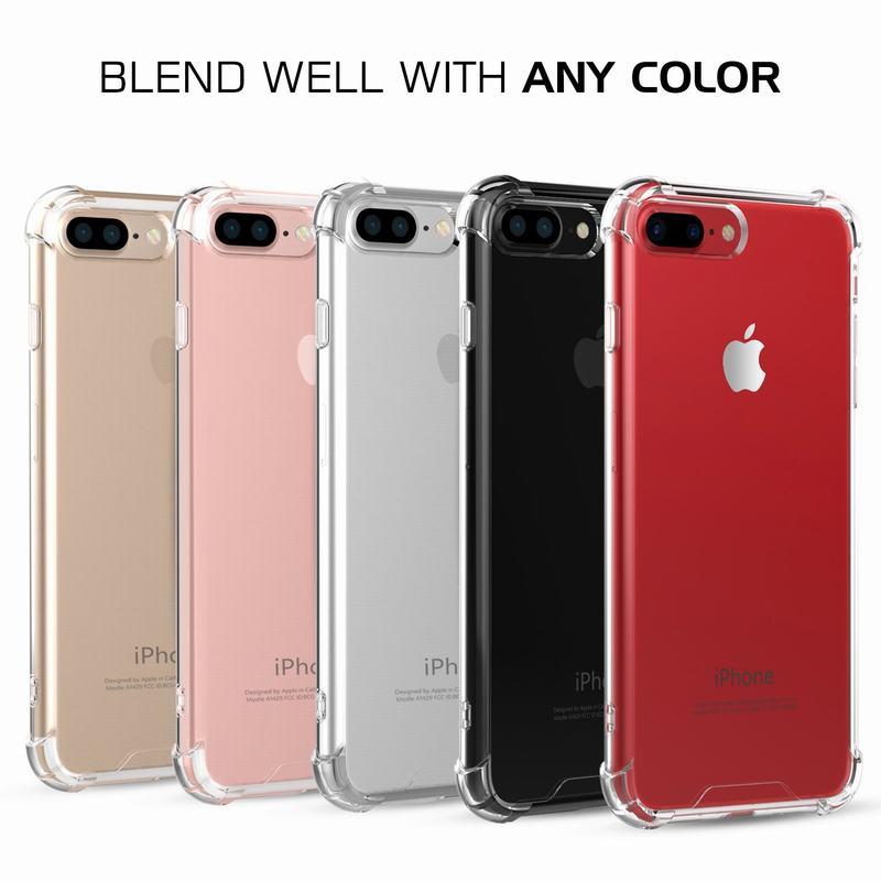 XINNIER Soft Case for iPhone X 6 s 6S 7 8 Plus 6Plus 6SPlus 7Plus 8Plus 5 5S SE Shockproof Silicon Luxury Phone Back Cover Case
