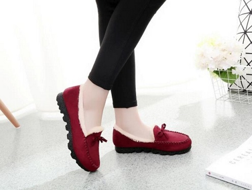 Old Beijing cloth shoes for women's shoes winter cotton shoes mother shoes pregnant women students more warm and velvet antiskid old beijing shoes new women s cotton