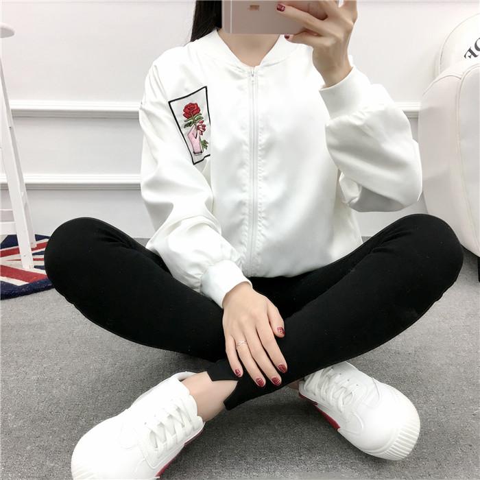 HTB1Z1 qPVXXXXcBXFXXq6xXFXXXC - Rose Embroidery Women's Jackets PTC 53