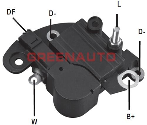14V regulador de voltaje de alternador 83611361 RTM121A para FIAT Punto Palio Tempra para alternador OEM 63320200 a 63320219, 63321205