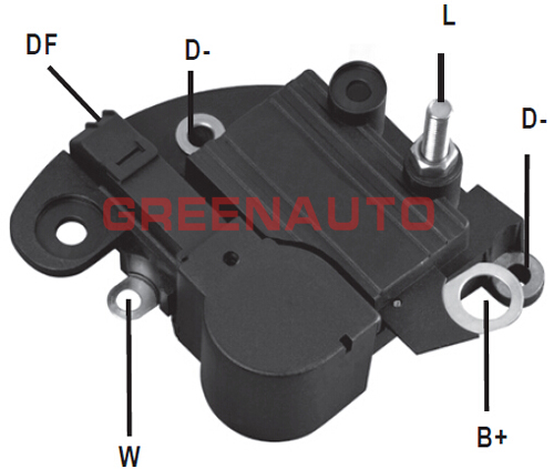 14V regulator napięcia alternatora 83611361 RTM121A dla fiat punto, Palio, Tempra dla alternatora OEM 63320200 63320219 63321205