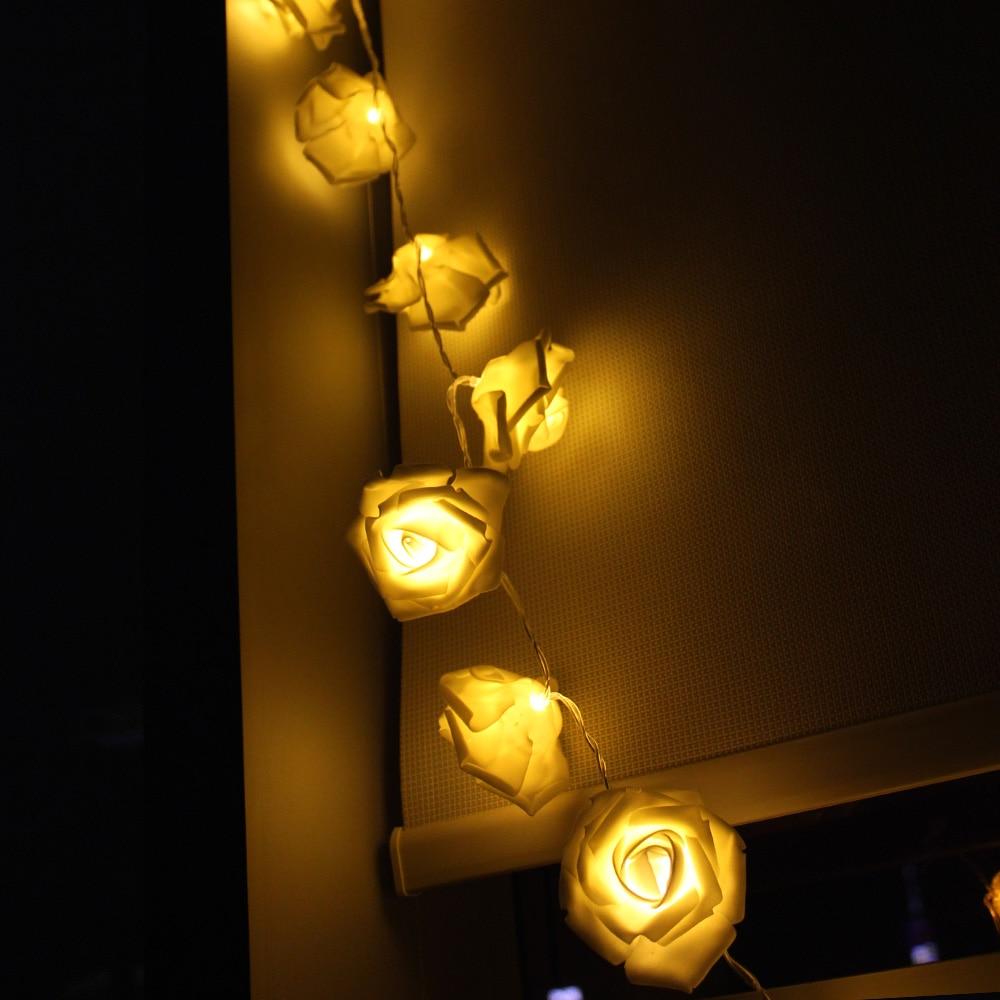 2M 20 Led Lampu Krismas Romantik Bateri Dikuasakan Untuk Pernikahan - Pencahayaan perayaan - Foto 2