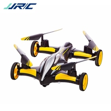 JJR/C JJRC H23 Air Ground Flying Car 2.4G 4CH 6Axis 3D Flips Flying Car One Key Return RC Drone Quadcopter Toy RTF VS CX10WD X5C