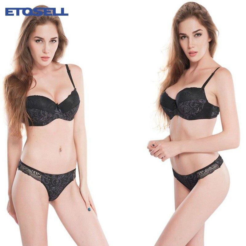 2018 Hot Sale Push up padded   bra   panties   set   Brand women's Intimates   Bra     Set   Underwear   set   Lace Women   Bra     briefs     set   lingerie