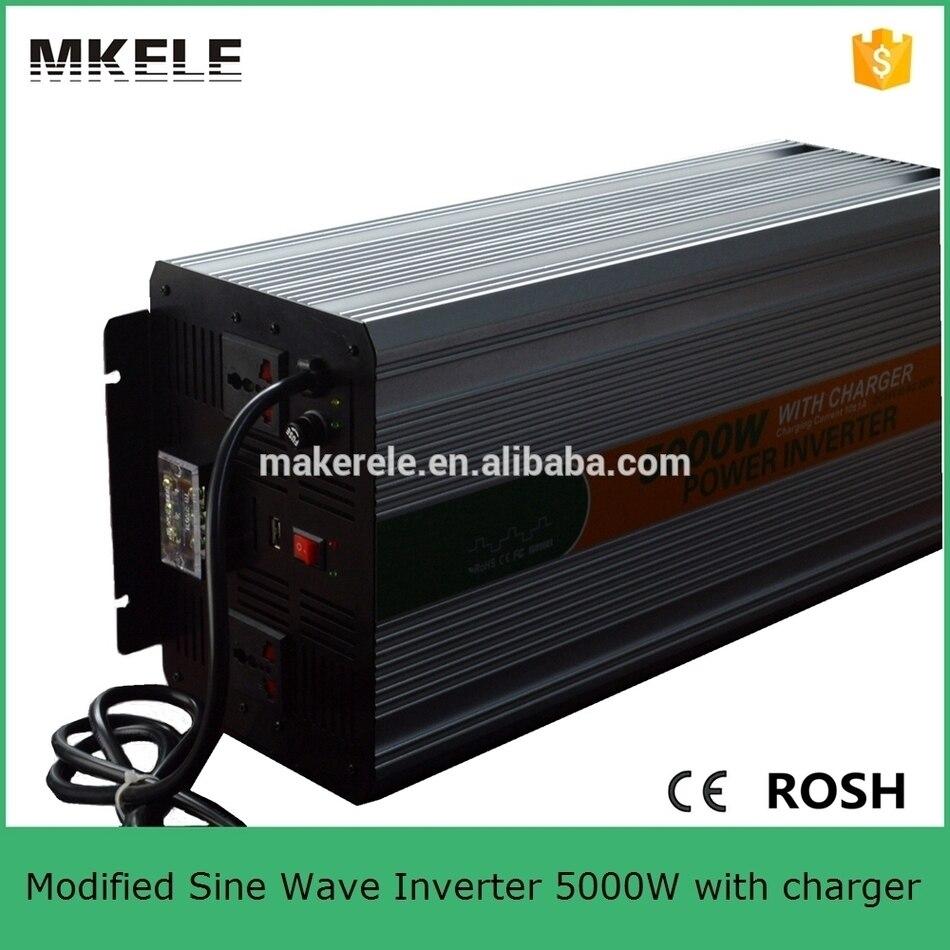 MKM4000-242G-C prise universelle haute puissance 4000 watts onduleur 24vdc 220vac convertisseur de puissance pour voiture avec chargeur de batterie