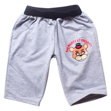 2017 Summer Boys Shorts Cotton Elastic Waist Cartoon Baby Boys Short Trousers Pants Casual Boys Trousers Children Clothing 2p001