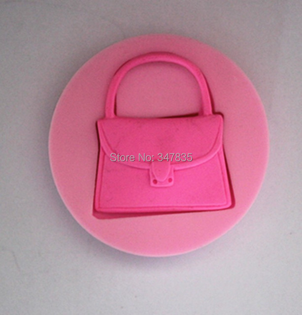 Fm123 Handbag Silicone Cake Chocolate Soap Pudding Jelly Candy Ice Cookie Biscuit Mold Mould Pan