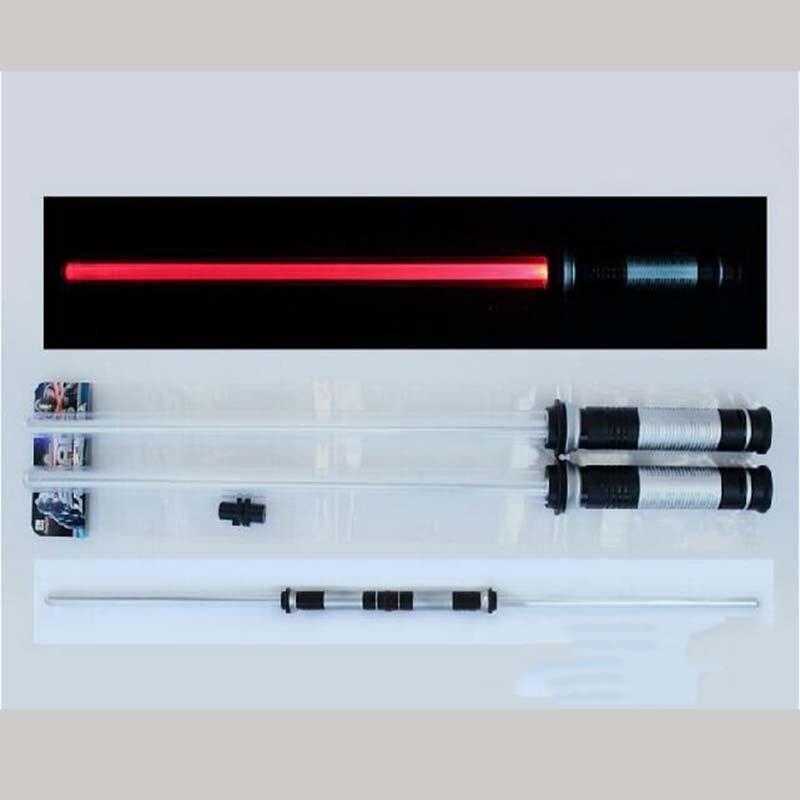 Прямая доставка 2 шт/комплект Звездные войны световой меч светодиод мигает световой меч Игрушечные лошадки Косплэй Книги об оружии сабли по...
