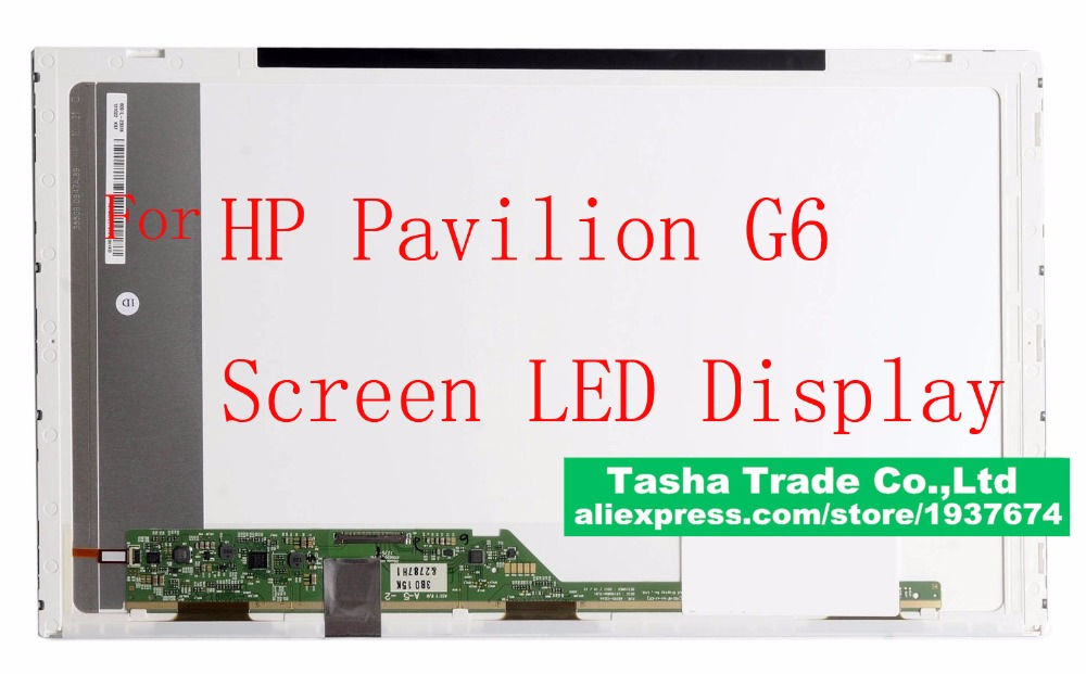 hp pavilion g6 screen Display LED Display 1366*768 WXGA HD Good Quality Compatible Modle стоимость
