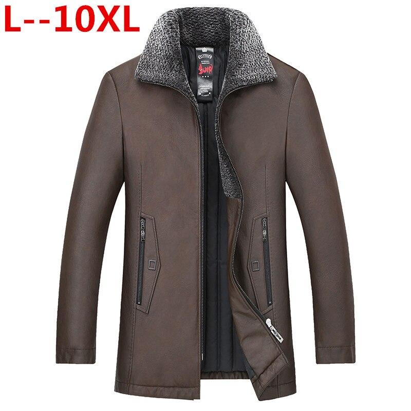 Hiver 1 En Véritable Veste 10xl 8xl Nouvelle Bas De Réel Col 2 Mouton Chaud D'hiver Vison Vers Le 6xl Peau Manteau Cuir Hommes 1wUtXq4AX