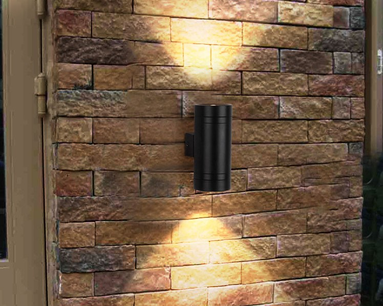 ФОТО 10W Led Lamp Porch Light Outdoor Wall Lamps IP65 Garden Up Down Wall Light Lamp Fixture