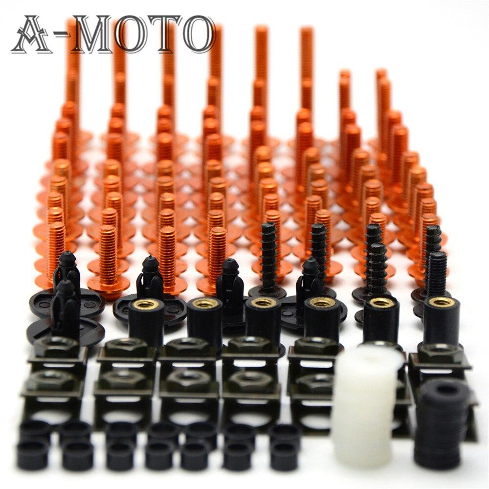 Accesorios de la motocicleta de encargo tornillo perno tornillo parabrisas para