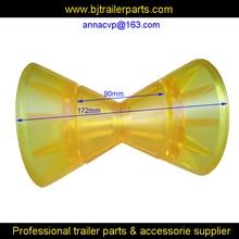 CVP лук ролик для лодочного прицепа, желтый ПВХ Лодка Трейлер ролик, трейлер частей