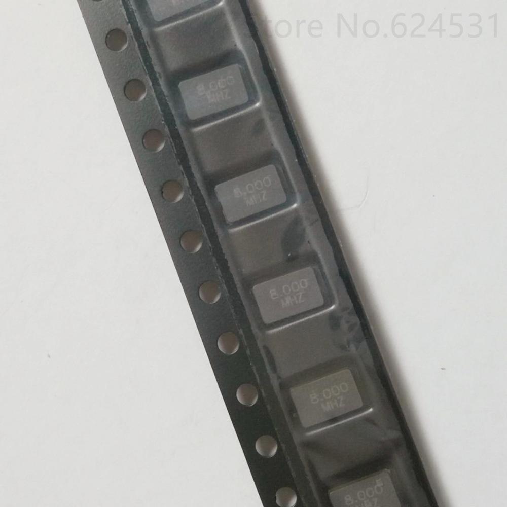 10pcs New Patch Passive Crystal Oscillator 5032 5*3.2 2 Feet 8MHZ 8.0000MHZ