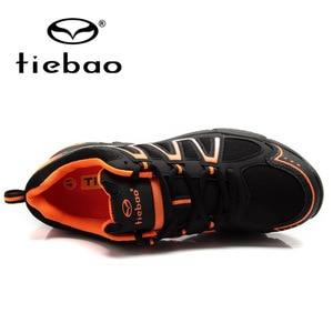 Image 3 - Tiebao Winter Fietsen Apparatuur Hoge Hulp Road Racing MTB PVC Zolen Mountainbike Schoenen TB22 B1285 Triatlon Zapatillas Ciclismo