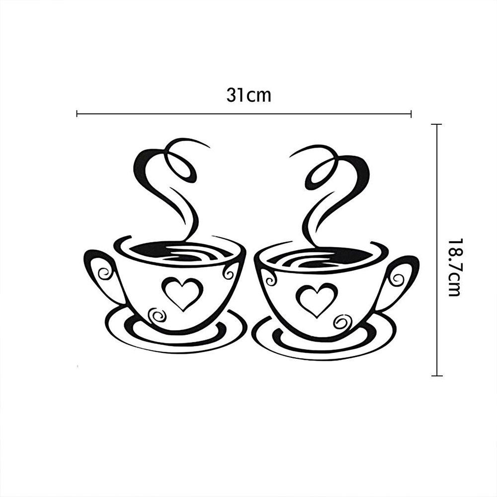 HTB1Z1cdjnvI8KJjSspjq6AgjXXaz - Wall Sticker Coffee Cups For Kitchen