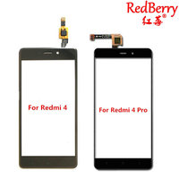 Redberry 5 0 White Gold Black Outer Glass Sensor Touch Screen Panel Digitizer For Xiaomi Redmi