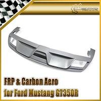 רכב סטיילינג FRP סיבי זכוכית אחורי מפזר עבור פורד 2015 מוסטנג GT350R-בסוככים וגגוני הגנה מתוך רכבים ואופנועים באתר
