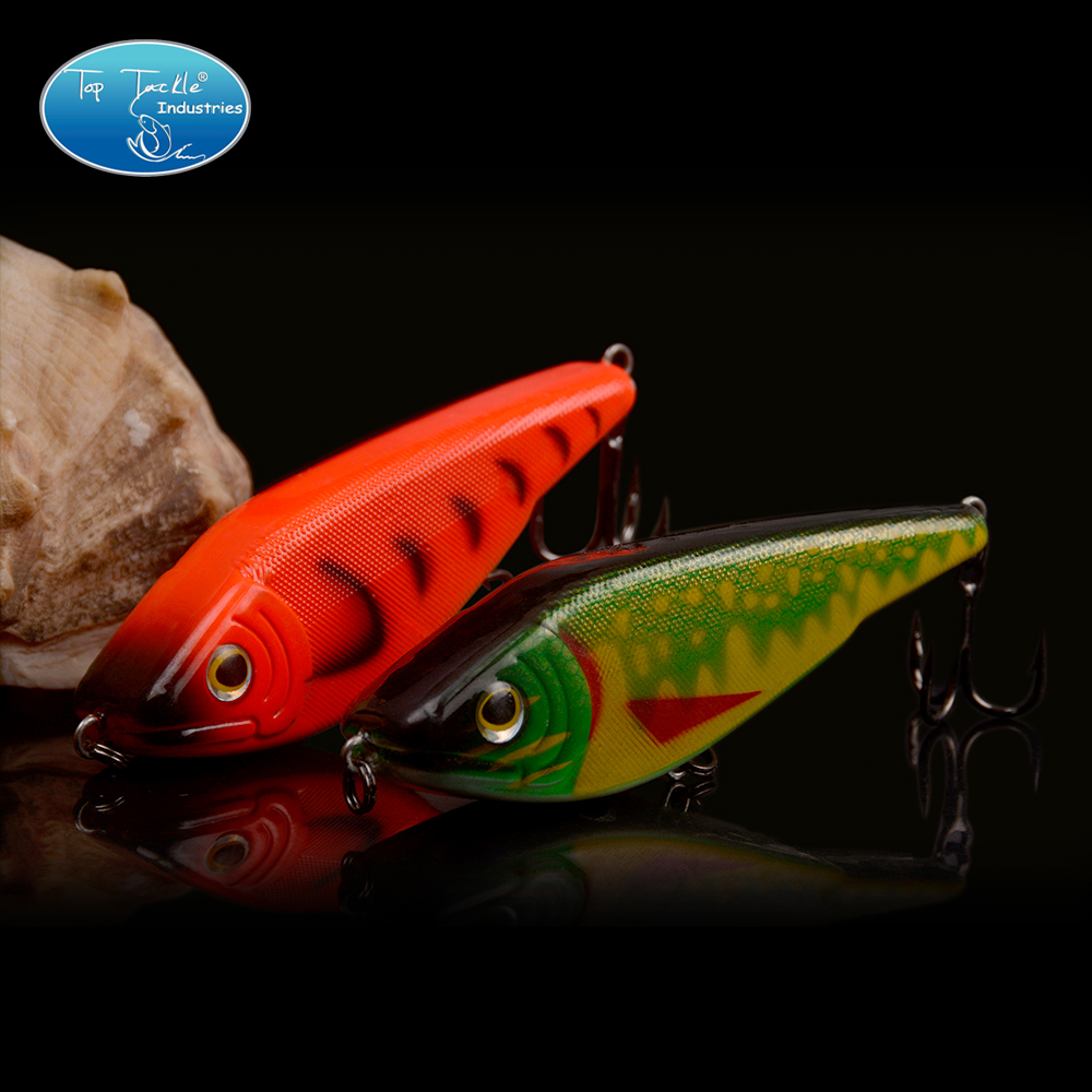 lifelike Jerk bait Slow Sinking Fishing Lure 90MM/27.4G