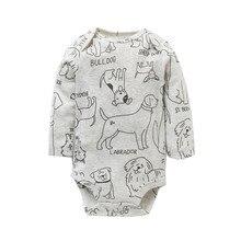 Baby Long Sleeve Fashion Jumpsuit 4 PCS/LOT
