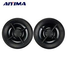 AIYIMA 2 шт. 1 дюймов мини аудио портативный динамик s 8 Ом 20 Вт Неодимовые Магнитные автомобильные твитеры Высокочастотный динамик