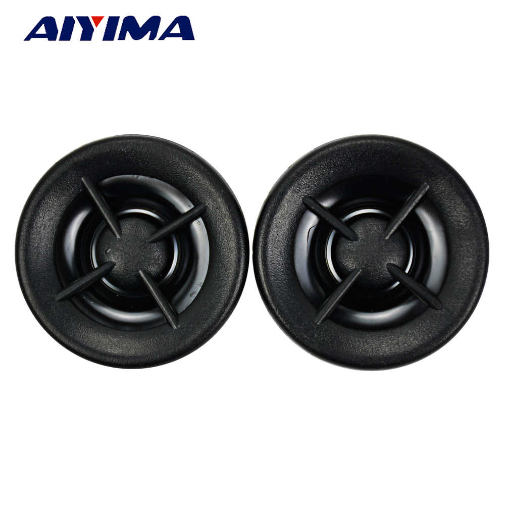 AIYIMA 2Pcs 1Inch Mini Audio Portable Speakers 8 Ohm 20W Neodymium Magnetic Car Tweeters High-pitched Speaker
