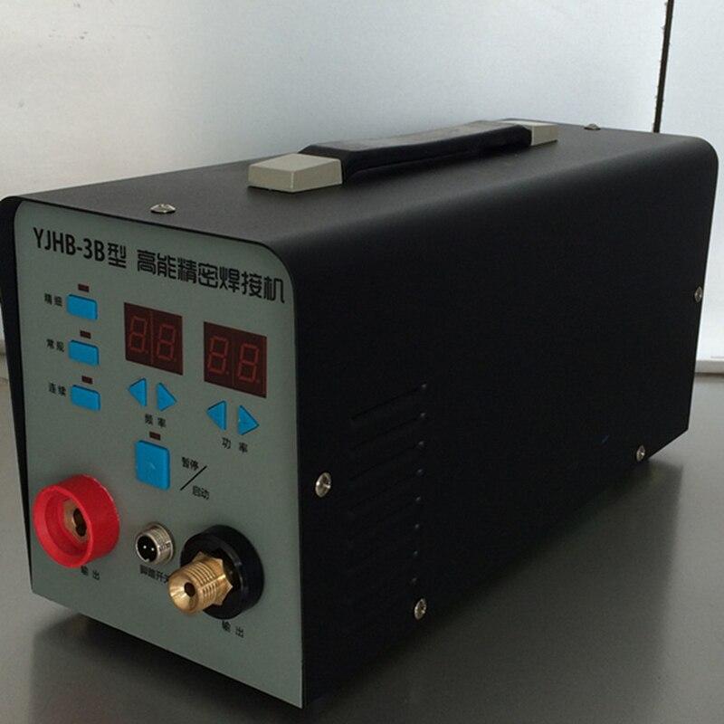 YJHB-3B Micro Reparatur Schweißer Arc Schweißer Präzision Elektrode Schweißen Tig Schweißer Kalten Schweißer Ultra-laser Schweißen Elektrode Schweißen