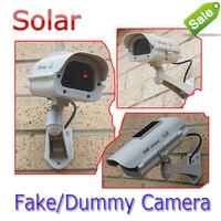 Năng lượng mặt trời Powered Pin AA CCTV Dummy Camera Fake An Cam Nhấp Nháy LED Surveillance Đối Với Giả Pirates Bán Buôn Giảm