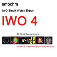 DHL Shipment 5 7 Days Smochm IWO 4 Bluetooth Smart Watch Heart Rate Monitor Blood Pressure