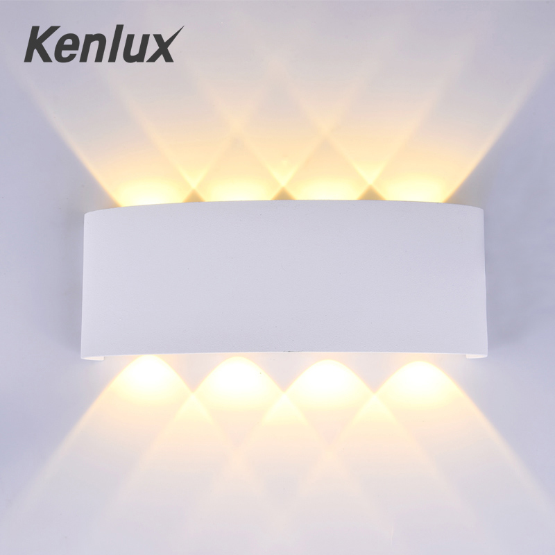 Nordic Führte Wand licht Ip65 Aluminium Outdoor Indoor Up Down wand leuchtet Moderne Für Home Treppen Schlafzimmer Nacht Badezimmer Beleuchtung