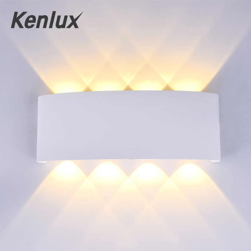 Nordic Led Wall light Ip65 Aluminum Outdoor Indoor Up Down wall lights Modern For Home Stairs Bedroom Bedside Bathroom Lighting