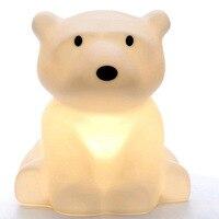 Explosion Models Of Children Room Lamp Home Furnishing Led Polar Bear Night Light Decoration Factory Direct Pvc Holiday Novelty