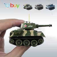 Super Mini Tiger RC Tank Modell Imitieren Skala Remote Radio Control Tank Radio Gesteuert Elektronische Spielzeug Tank für Kinder Kinder
