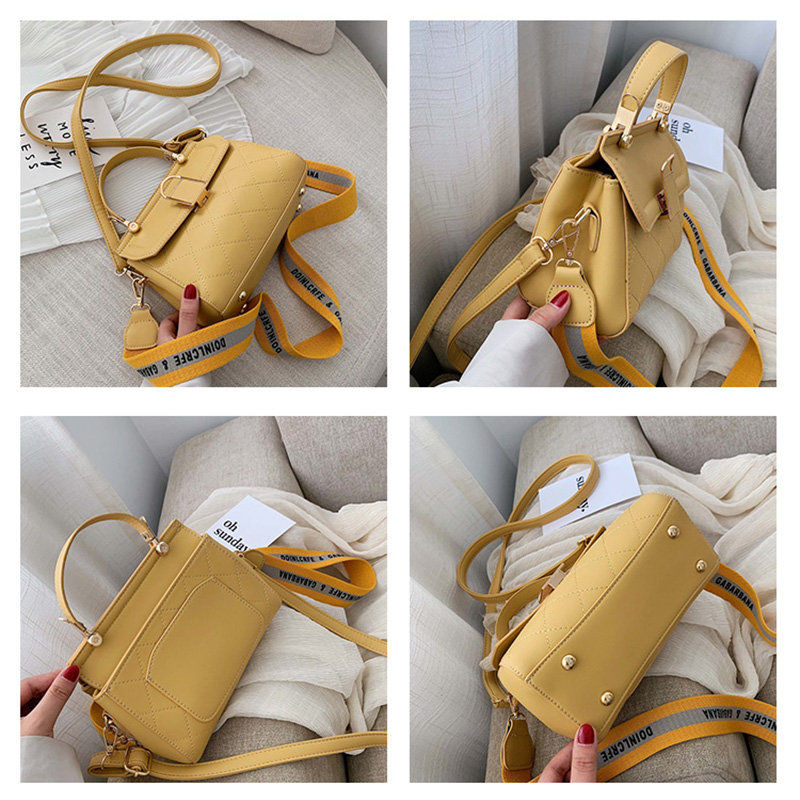 High Quality PU Leather Women Handbag Messenger Bags Female Fashion Women 39 s Shoulder Bag Female Ladies Handbags Crossbody Bag 7 in Shoulder Bags from Luggage amp Bags