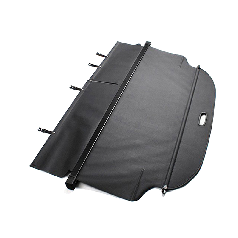 Black Trunk Cargo Cover Security Shield For Toyota RAV4 RAV 4 2013 2014 2015 2016 car rear trunk security shield shade cargo cover for toyota highlander 2009 2010 2011 2012 2013 2014 2015 2016 2017 black beige