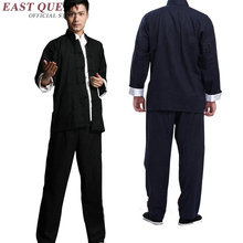 Bruce costume new design bruce clothes kung fu uniform male kung fu suit wing chun clothing AA2689 Y