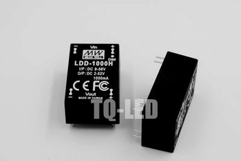 10piece/lot Meanwell Ldd-1000h Led Driver DC9-56V to DC2-52V 1000mA