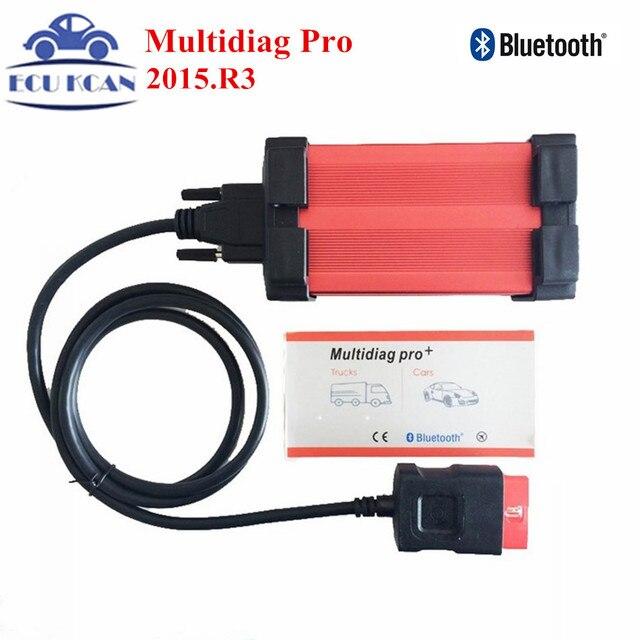 С Bluetooth Tcs CDP VCI Диагностический Инструмент Multidiag Pro + V2015.R3 TCS CDP PRO PLUS Для Легковых Автомобилей/Грузовых автомобилей Multi Diag Pro + Multi-Diag