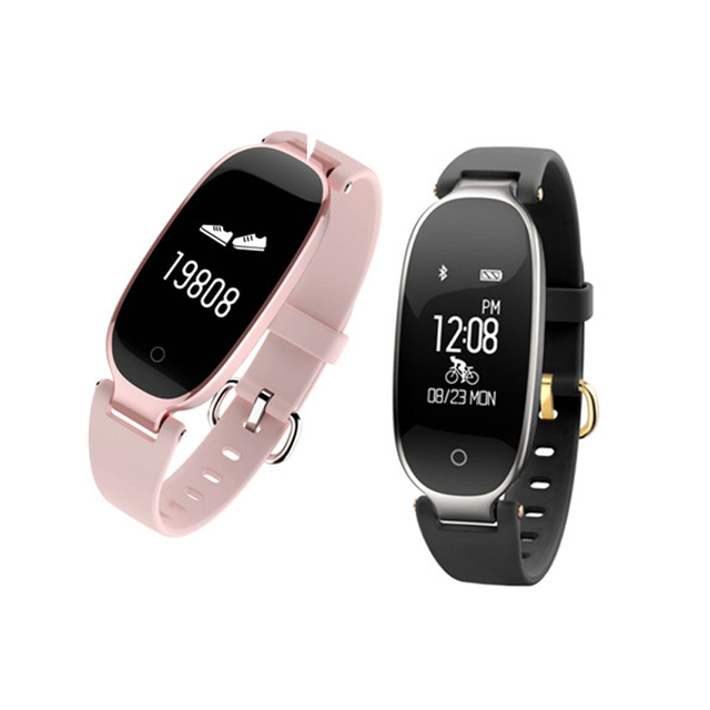 37d7e9408 S3 pulsera inteligente Monitores impermeable para Natación fitness reloj  Tracker Smart wristband Sleep step actividad Tracker