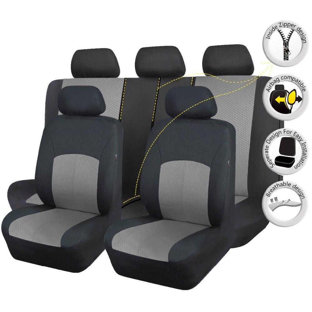 Кожа автомобильная полный сиденье автомобиля включает набор для Volvo автомобилей черный мест Охватывает Протектор