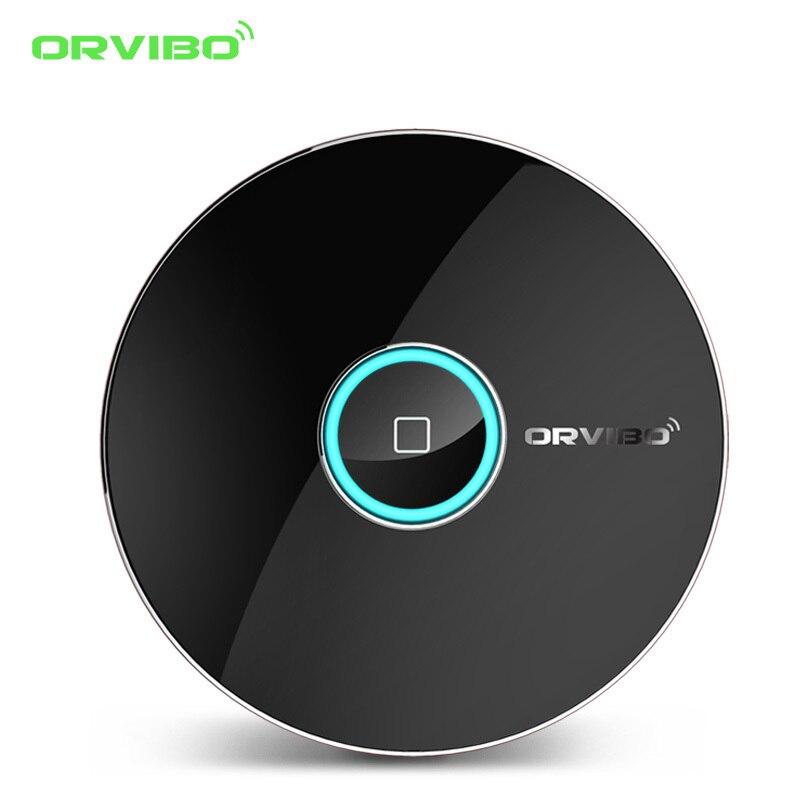 2017 Orvibo Smart Home Automation Intelligent Controller Allone pro,Smart Phone Wireless Smart Remote Control IR+RF+WIFI Switch  4