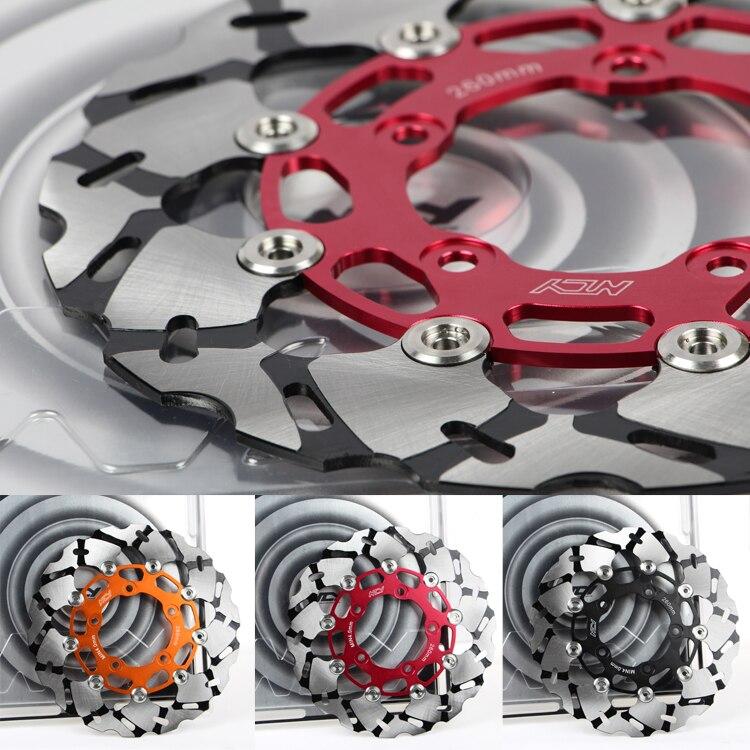 Haute qualité personnalité Moto modification Avant et arrière de frein disques 260mm taille En alliage D'aluminium matériel de frein disques