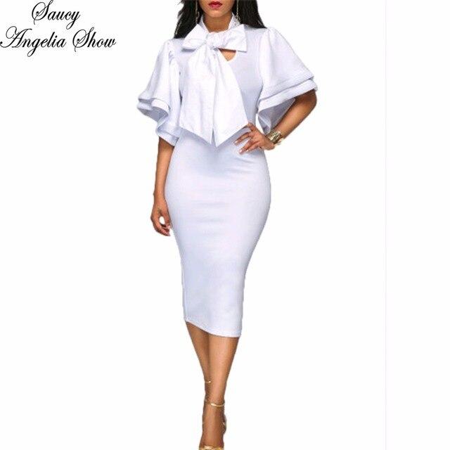 Vestito bianco invernale