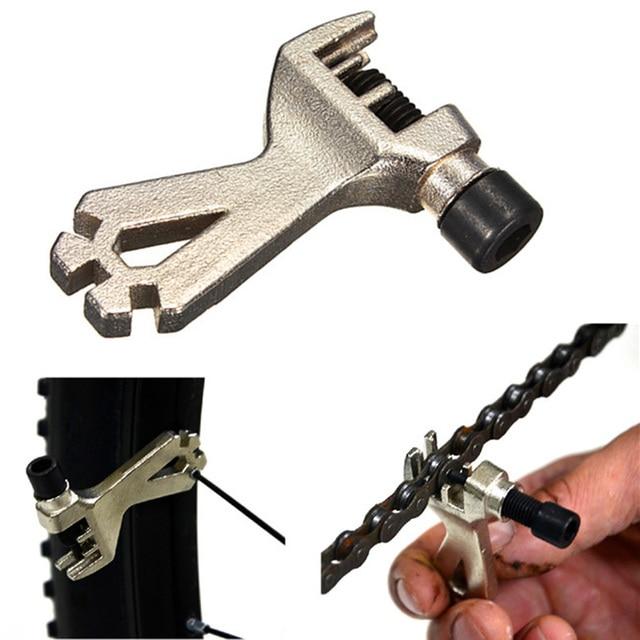 Велосипедная цепь инструмент стальной цепной выключатель спицевой ключ портативный инструмент для ремонта велосипеда горный велосипед антикоррозионный инструмент бесплатная доставка
