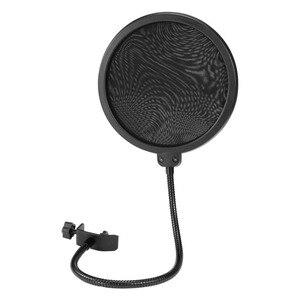 Image 2 - Mikrofon Standı BM 800 stüdyo mikrofonu Standı Mikrofon Filtresi Gooseneck Mikrofon Standı Mikrafon Masaüstü Mic Tutucu