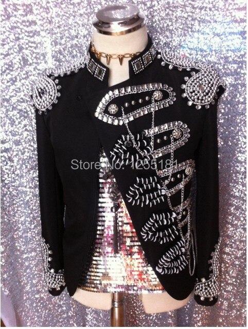Men Flipping sequins Pink Suit Jackets Glittering paillette Blazers Coat Nightclub Singer Vocal Concert Stage Costume