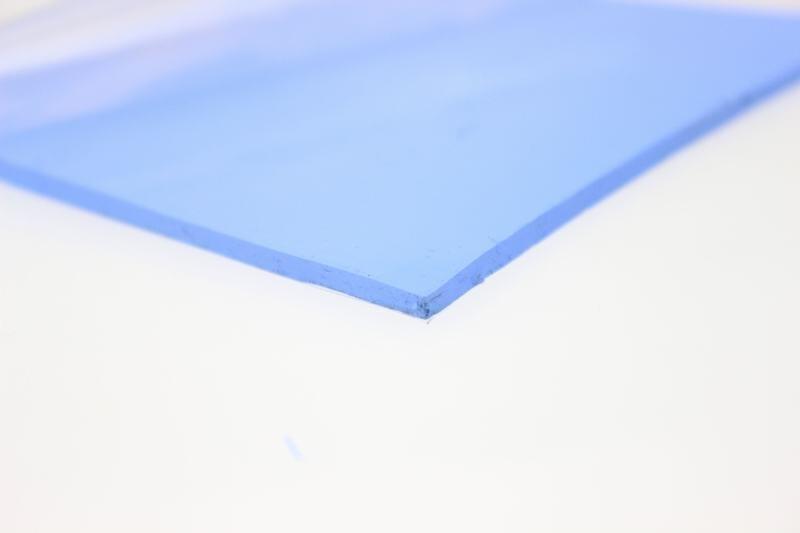 Купить с кэшбэком 5PCS/lot 100mm x 100mm x 2.5mm Conductive Silicone Blue Thermal Conductive Pad